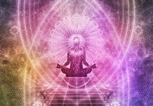 Meditation in Lotus position